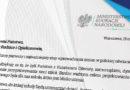 List Minister Edukacji Narodowej z 19 maja 2017